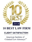 10 Best Law Firm, 2018